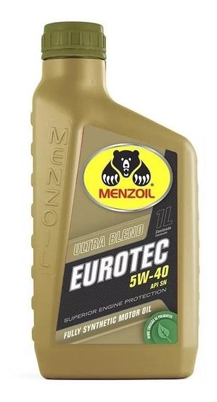 Óleo Lubrificante Eurotec 5w40 Api Sn 100% Sintético 1 Litro