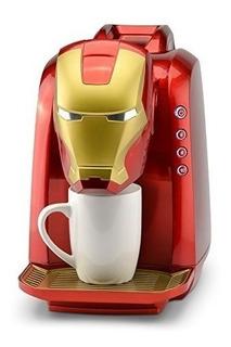 Marvel Mva802 Iron Man Cafetera Electrica Personal 40 Onzas