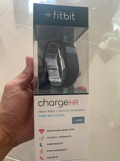 Fitbit Chargehr Reloj Smart Watch Monitor Corazon Call Id