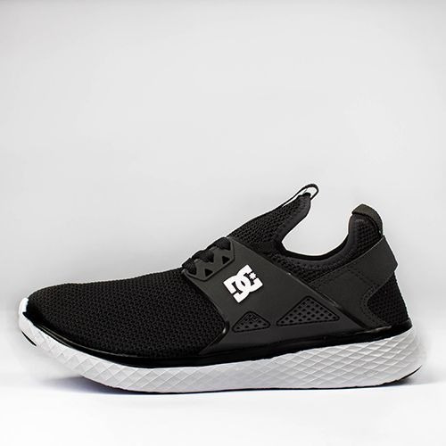 Tênis Unissex Dc Shoes Meridian Preto/branco Casual Original + Frete