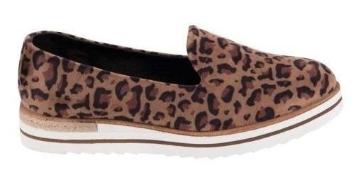 Zapato Confort Shosh Leopardo Dama 825088