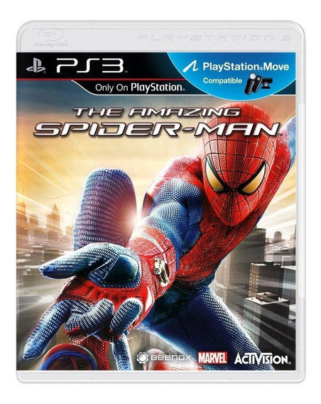 The Amazing Spiderman Ps3 Mídia Física Pronta Entrega