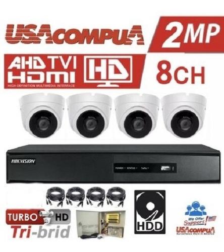 Dvr Grabador 8 Canales Hikvision 1080 Trihibrido Hd P2p