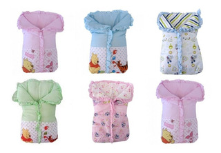 Porta Bebê Saco De Dormir Cobertor Disney