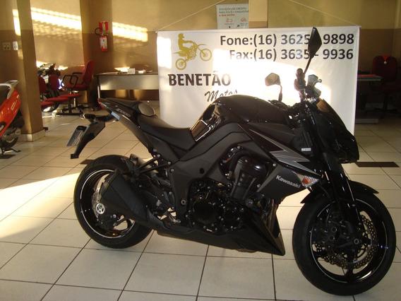 Kawasaki Z 1000 Preto 2012