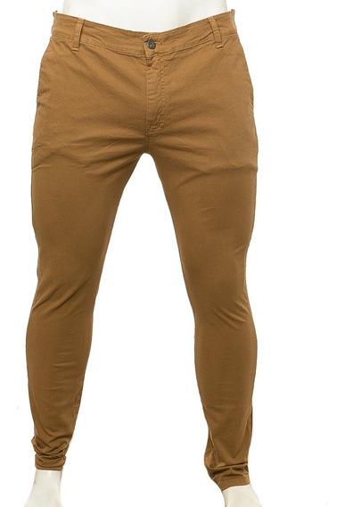 Pantalon 2x4 Chino Khaki Volcom Fluid Tienda Oficial