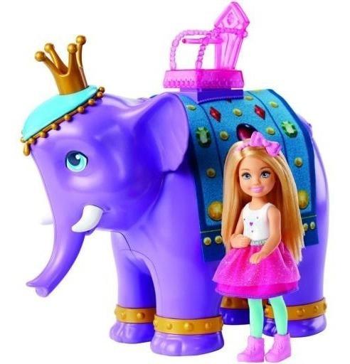 Boneca Barbie Família Chelsea E O Rei Elefante - Mattel