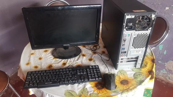 Pc Gamer Completo Intel G4560 + 8 Gb Ram + Gtx 750
