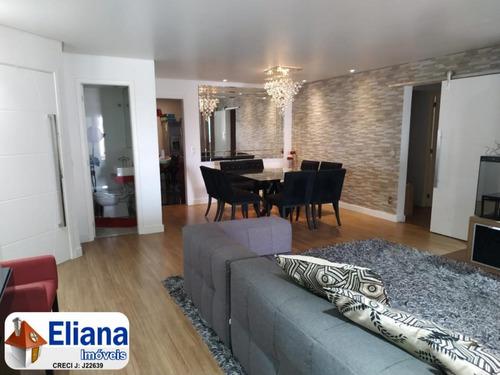 Apartamento Santa Paula - 3 Suítes - Varanda Gourmet - Ge7309