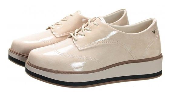 Sapato Mississipi X9841 Feminino Flatfoarm Nude
