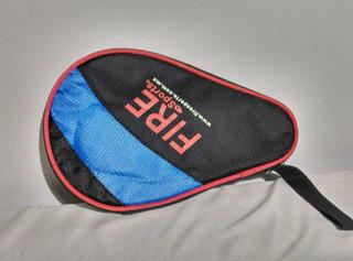 Funda Raqueta Profesional Tenis Mesa Marca Fire Sports