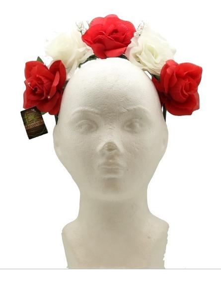 Diademas Estilo Catrina Mexicana Flores Dama