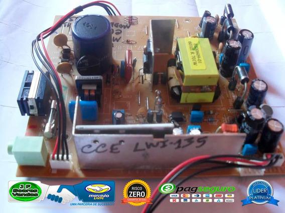 Placa Fonte Para O Monitor Cce Lwi 135 - P/n:72654.01