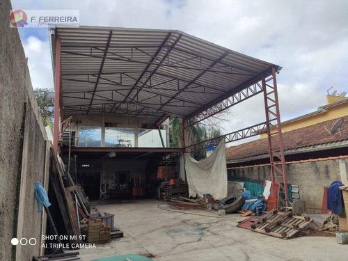 Imagem 1 de 8 de Galpão Para Alugar, 250 M² Por R$ 4.500,00/mês - Jardim Itapecerica - Itapecerica Da Serra/sp - Ga0024