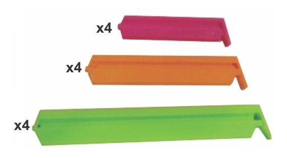 Cierra Bolsas Crystal Rock X 12 U. Varios Colores
