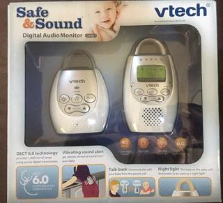 Aufio-monitor De Bebé Vtech Safe & Sound Dm221