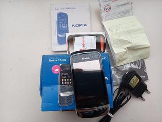 Celular Nokia C2 - 06 , Tela Touch E Teclado ...funcional !