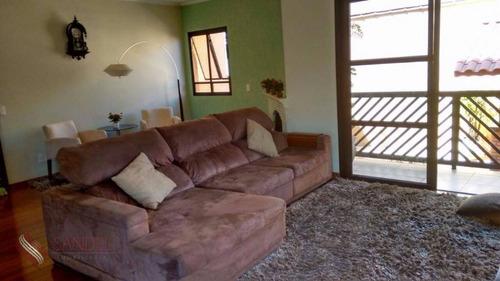 Lindo Sobrado Para Venda No Cit Campo Grande Com 248m², 3 Dorm (1s), 5 Banheiros (s) - So0171