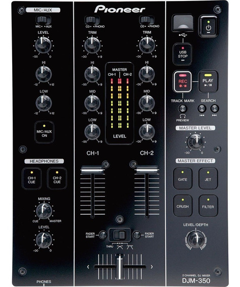 Mixer Pioneer Djm-350 Pronta Entrega