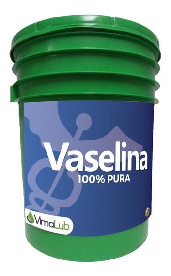 Vaselina Solida 100% Pura [5 Kg] (petrolato Blanco)