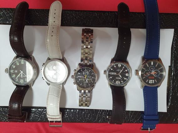 Kit 5 Relógios