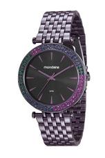 5c9f583404b Relógio Mondaine Feminino Roxo Cristais 99095lpmvfs3