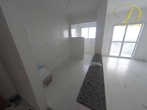 Imagem 1 de 27 de Apartamento De 1 Quarto, Novo, À Venda Em Praia Grande Com Área De Lazer Completa!!! - Ap3583