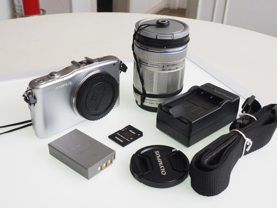 Mirrorless Olympus Epm 1 + Lente Zoom 40-150mm
