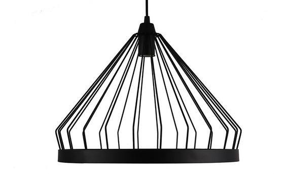 Lustre Pendente Luminária Aramado Carlota - Soquete E-27