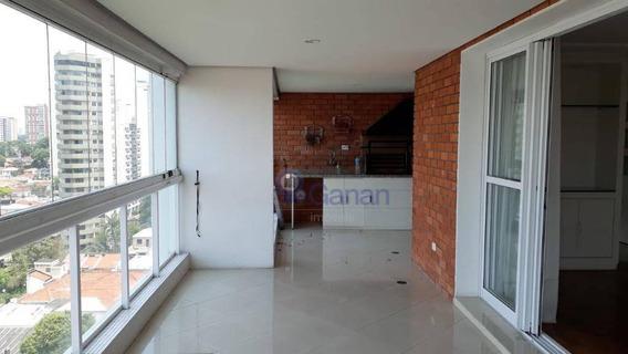Apartamento À Venda, 177 M² Por R$ 1.960.000,00 - Campo Belo - São Paulo/sp - Ap6314