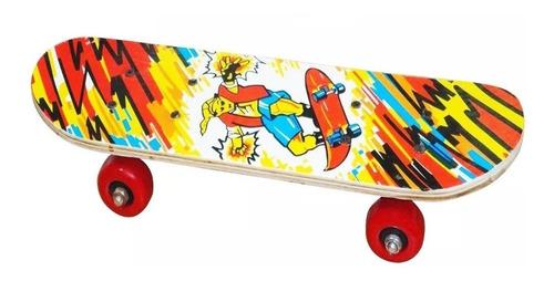 Imagen 1 de 6 de Skate Patineta Mini P/ Niño Varios Diseños Nº1 Ventas El Rey
