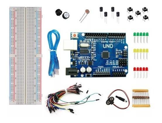 Kit Maker Iniciante 100pcs Compatível Com Arduino