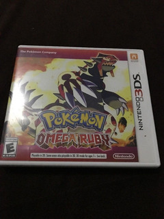 Pokemon Omega Ruby - Juego -3ds