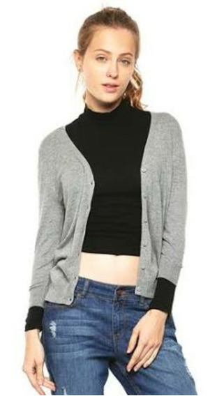 Sueter Hollister Gris Mujer