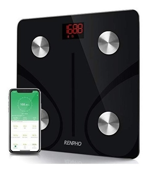 Bascula Digital Bluetooth Medidor De Grasa Corporal Fitness