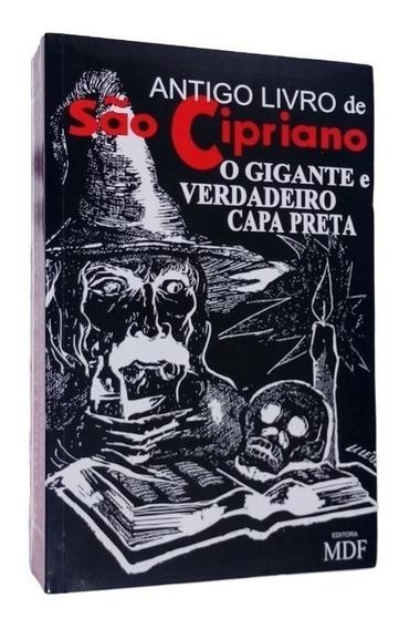 Antigo Livro De São Cipriano - O Gigante E Verdadeiro