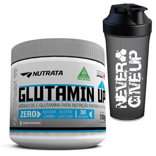 Glutamina Glutamin Up Nutrata 150g - Promoção + Brinde