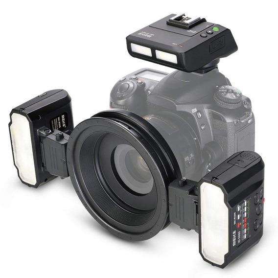 Flash Twin Meike Mk-mt24 - Canon Garantia Sem Juros