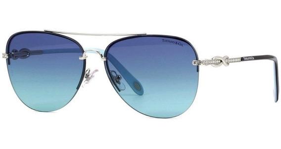 Tiffany & Co Tf3054b 6001/9s 59 - Prateado/azul Gradiente