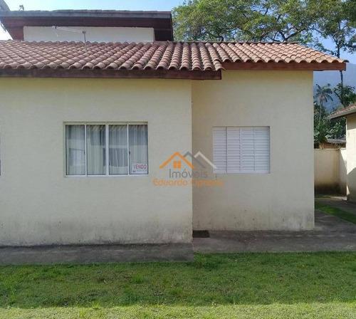 Casa Com 1 Dormitório À Venda, 55 M² Por R$ 195.000,00 - Massaguaçu - Caraguatatuba/sp - Ca0435