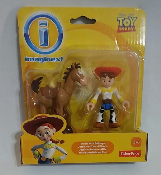 Boneco Imaginext Toy Story Mattel - Jessie E Bala No Alvo