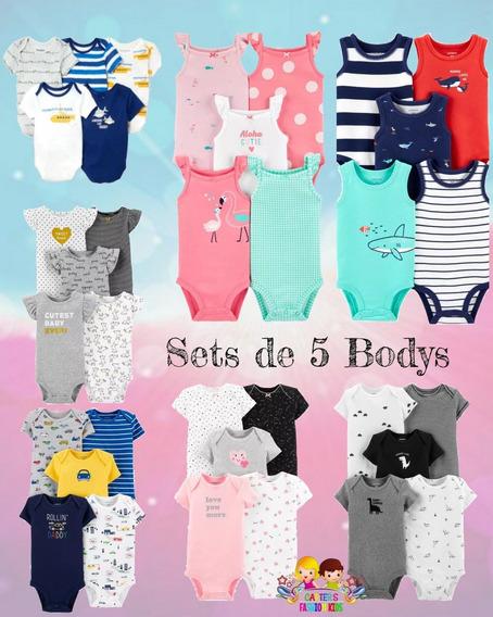 Sets De Bodys Para Bebe Niño Y Niña Carters