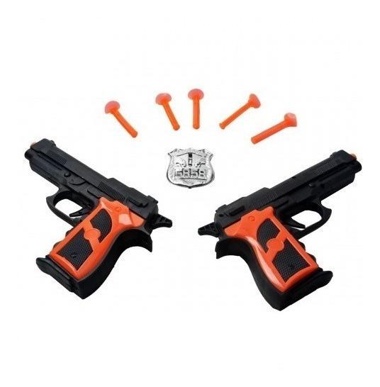 Pistola Lançador De Dardos Arma De Brinquedo Kit 2 Armas