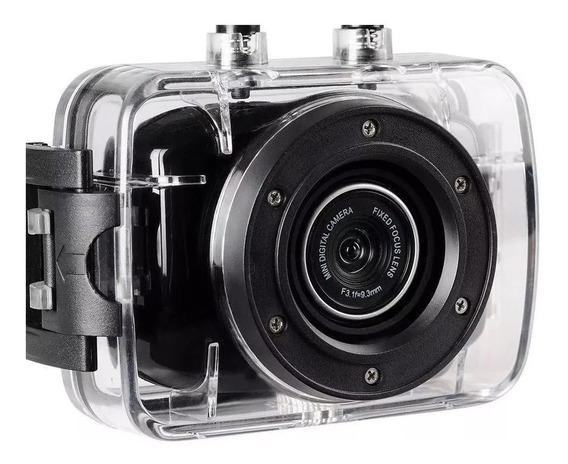 Câmera Filmadora De Ação Onn 5mp Hd Hs Vga Sportcam