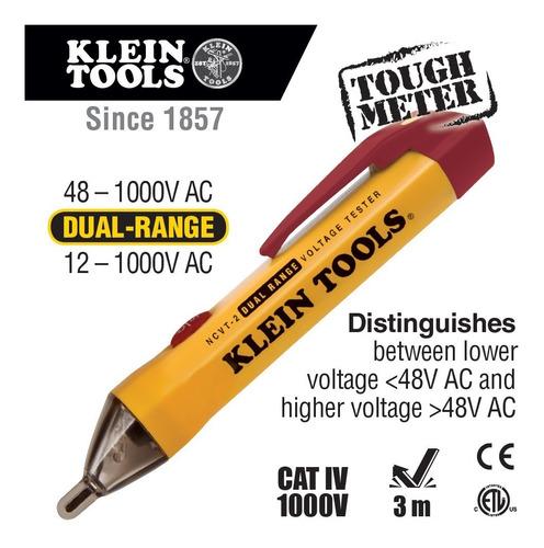 Probador De Voltaje Sin Contacto Ncvt-2 , Klein Tools