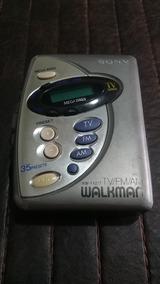 Walkman Sony Tv Retrô Antigo Colecionador Vintage Saudosista