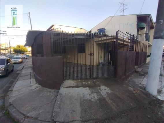 Casa Com 2 Dormitórios Para Alugar Por R$ 1.200,00/mês - Chácara Do Encosto - São Paulo/sp - Ca0314