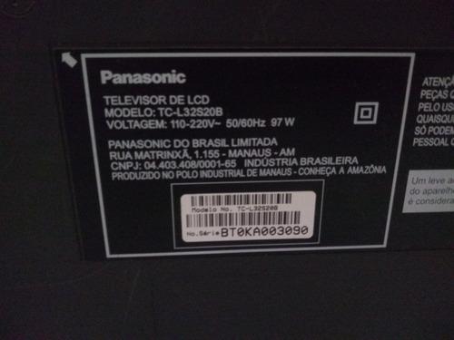 Imagem 1 de 2 de Tv Panasonic Lcd Viera Retirar Peças Tela Quebrada