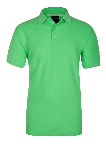 Playera Lisa Tipo Polo Premium Para Hombre National Style
