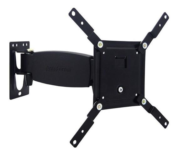 """Suporte Brasforma SBRP231 de parede para TV/Monitor de 10"""" até 37"""" preto"""
